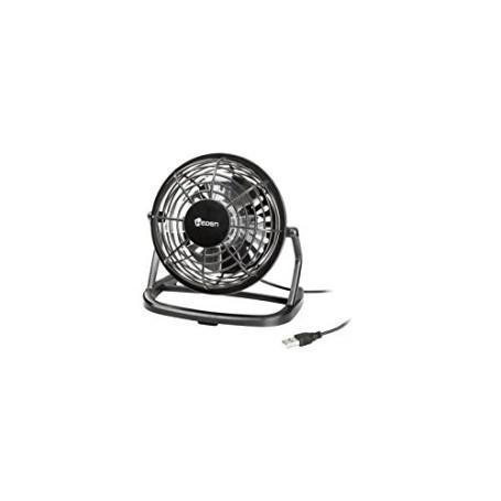Mini Ventilateur USB Heden Noir Diamètre 96mm cable 1.2m