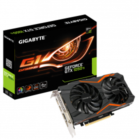 Carte Graphique Gigabyte GV-N105TG1 GAMING-4GD GTX 1050 Ti G1 Gaming