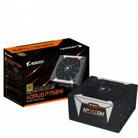 Alimentation AORUS GP-AP750GM 80+ Gold Full Modulaire 750 Watts