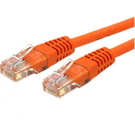 Cable Réseaux RJ45 7.5m Droit Cat6 Blindé Orange