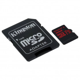 Mémoire Micro SDHC 32Go Kingston Canvas React A1 V30 UHS-I U3 Class10