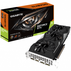 Carte Graphique Gigabyte GV-N166TGAMING OC-6GD GTX 1660 Ti GAMING OC