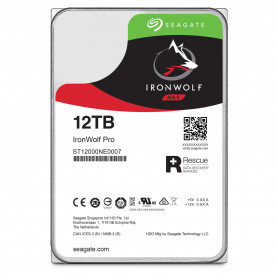 Disque Dur SATA 6Gb/s 12To 256Mo Seagate IRONWOLF PRO ST12000NE0007