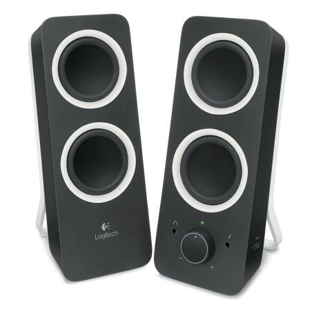 Haut-parleurs Logitech Z200 2.0 5 Watts RMS Noir