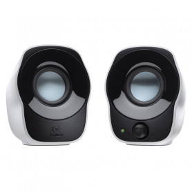 Haut-parleurs Logitech Z120 2.0 1.2 Watts RMS Jack + Alim USB