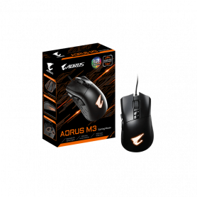 Souris AORUS M3 Gaming RGB 6400dpi USB