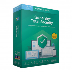 Antivirus Kaspersky Total Security 2019 5 Postes 1 An