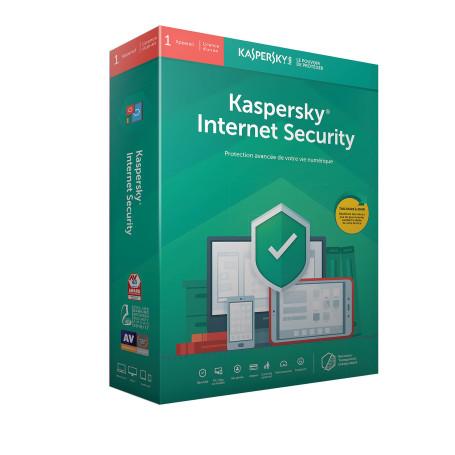 Antivirus Kaspersky Internet Security 1 Poste 1 An KAS2019_INT_1P - 1