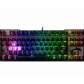 Clavier MSI Vigor GK70 RED Gaming RGB (Cherry MX RED)