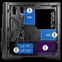 Boitier Antec DP301M Compact Gaming mATX USB 3.0 BTANDP301M - 7