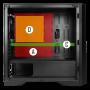 Boitier Antec DP301M Compact Gaming mATX USB 3.0 BTANDP301M - 8