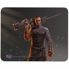 Tapis Flicks kennyS MousePad 480x400mm 5mm