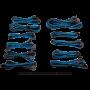 Kit de Câbles Corsair Pro Alimentation gainés Type 4 Bleu/Noir ALIMCOCP-8920228 - 1