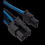Kit de Câbles Corsair Pro Alimentation gainés Type 4 Bleu/Noir ALIMCOCP-8920228 - 11