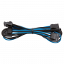 Kit de Câbles Corsair Pro Alimentation gainés Type 4 Bleu/Noir ALIMCOCP-8920228 - 7