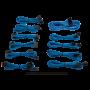 Kit de Câbles Corsair Pro Alimentation gainés Type 4 Bleu ALIMCOCP-8920225 - 1