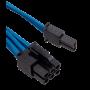 Kit de Câbles Corsair Pro Alimentation gainés Type 4 Bleu ALIMCOCP-8920225 - 9