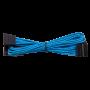 Kit de Câbles Corsair Pro Alimentation gainés Type 4 Bleu ALIMCOCP-8920225 - 8