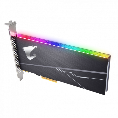 SSD PCIe 512Go AORUS RGB GP-ASACNE2512GTTDR 3480Mo/s 2100Mo/s SSD512_A_ASACNE251 - 1