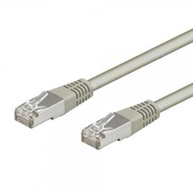 Cable Réseaux RJ45 3m Droit Cat6A S/FTP Blindé Gris