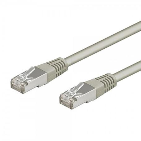 Cable Réseaux RJ45 1.5m Droit Cat6A S/FTP Blindé Gris CRJ45_C6_01.5M_GRI - 1