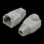 LogiLink Manchon de protection pour connecteur RJ45 MP0063 Gris CRJ45_MP0063-1 - 2