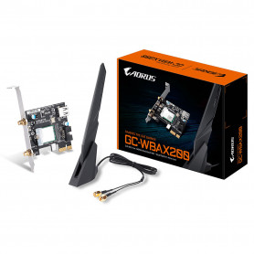 Carte Réseaux PCI-Express Wifi AX + Bluetooth 5.0 Aorus GC-WBAX200