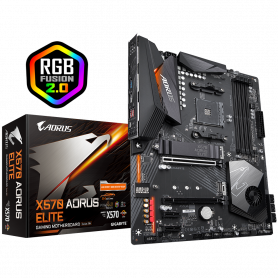 Carte Mère Gigabyte X570 AORUS ELITE ATX AM4 DDR4 USB3.1 M.2
