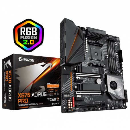 Carte Mère Gigabyte X570 AORUS PRO ATX AM4 DDR4 USB3.1 M.2 CMGX570-PRO - 1