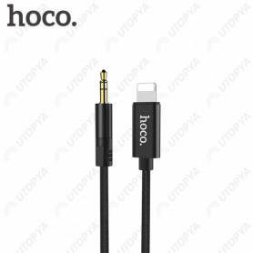 Cable Jack vers Lightning 1M hoco. UPA13 iPhone/iPad