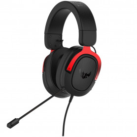 Micro Casque Asus TUF Gaming H3 Red PC/PS4