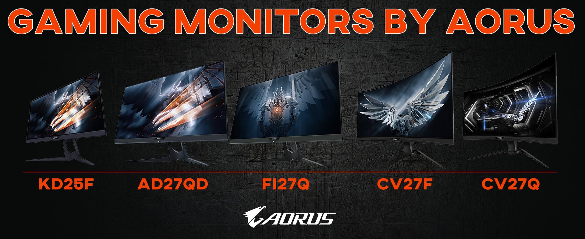 Aorus Monitors